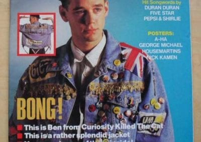 Smash Hits With Ben On Front Cover-min